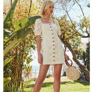 🌼 Free People daniella mini dress